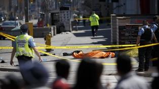 Imputaron al autor del atropello en Toronto con 10 cargos de asesinato