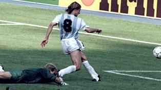 Caniggia habló de Messi y el Mundial, y apuntó contra Passarella por Francia 98