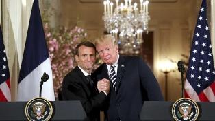Trump y Macron piden un nuevo acuerdo con Irán