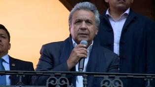 """""""No nos van a doblegar"""", dijo Moreno tras condenar el terrorismo"""