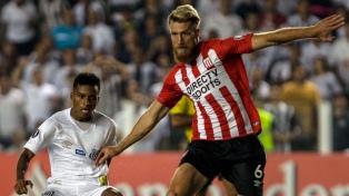 Estudiantes de La Plata cayó ante Santos en Brasil