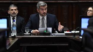 """Peña en el Senado: """"Las provincias deben asumir sus responsabilidades de gasto"""""""