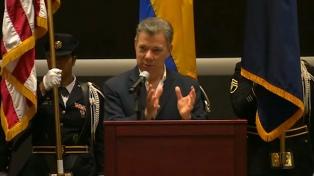 Santos reiteró que su país no compartirá el tesoro hallado en su mar