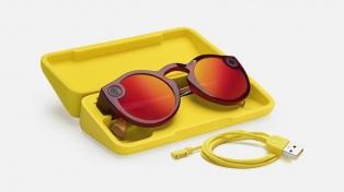 Snapchat lanzó una nueva versión de sus lentes con cámara