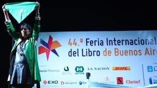 El discurso completo de Claudia Piñeiro al inaugurar la Feria del Libro