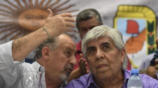 """Moyano llamó a """"construir la unidad"""" de los trabajadores contra el Gobierno"""