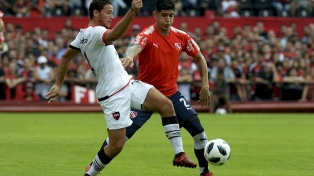 Newell´s cayó en su cancha frente a Independiente