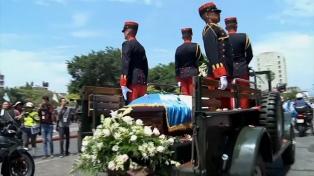 Murió el ex presidente Arzú, firmante de la Paz