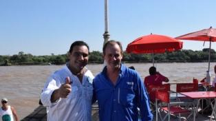 Los gobernadores Valdés y Bordet compiten en la Fiesta Nacional del Surubí