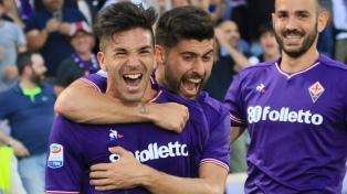 Tres goles de Simeone golpearon la ilusión de Napoli