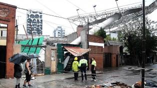 Más de 1.200 evacuados en seis distritos bonaerenses