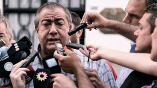 """La marcha de mañana será importantísima"", anticipó Héctor Daer"