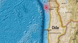 CHILE: Temblor de 4,6 grados sacude la región de Tarapacá