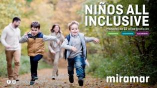 """Miramar tuvo su primer fin de semana largo familiar con el programa """"Niños All Inclusive"""""""