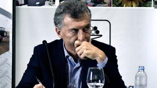 """Macri calificó de """"dañino"""" el proyecto opositor sobre las tarifas"""