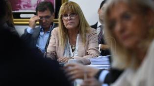 """Ayala, ante la comisión que analiza su desafuero: """"No soy jefa de una supuesta banda"""""""