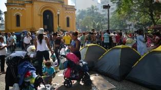 San Pablo, convertida en un campo de refugiados por el derrumbe que causó un muerto