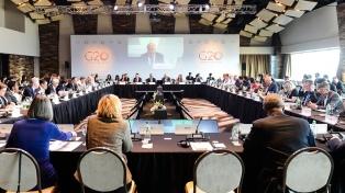 Finalizó el encuentro de negociadores del G20