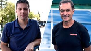 Calleri vs. Clerc, el duelo por la presidencia del tenis argentino