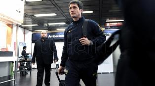 Boca llegó de Barranquilla y se fue a entrenar con miras al partido del domingo