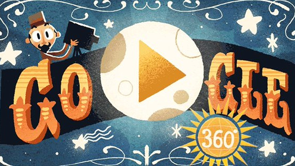 Google recuerda a Georges Méliès con su primer doodle en realidad virtual