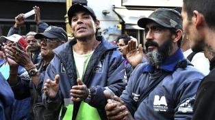 Cartoneros protestaron en la Legislatura porteña contra la incineración de basura