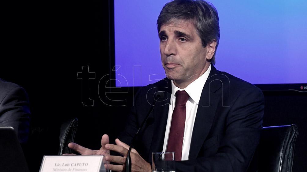 Luis Caputo, flamante presidente del BCRA