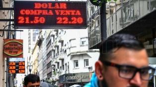 El BCRA subió la tasa de interés y el dólar retrocedió a $22,28