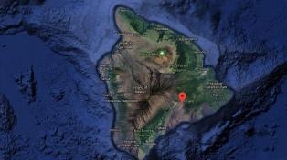 Un sismo de 6,9 sacudió la zona del volcán hawaiano Kilauea