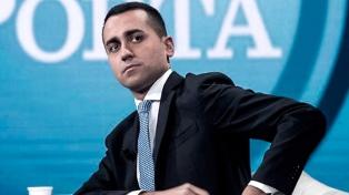 """Di Maio pedirá """"mayor responsabilidad de Europa"""" con la inmigración"""
