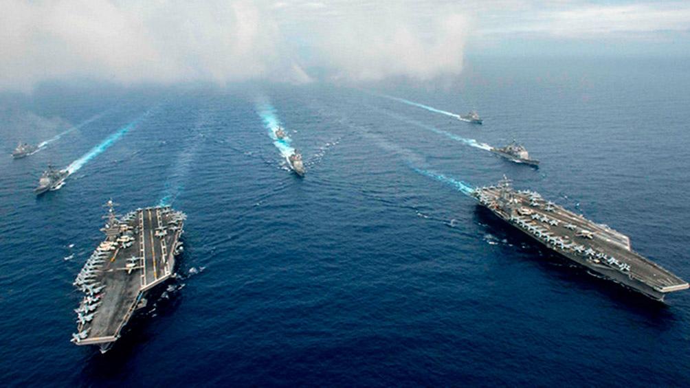 MANILA: EEUU y Filipinas inician maniobras militares en el Mar de China