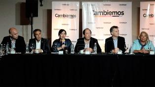 Macri se reunió con Vidal, Larreta, Peña y la Mesa Nacional de Cambiemos
