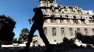 Un bombardeo contra el palacio presidencial deja seis muertos