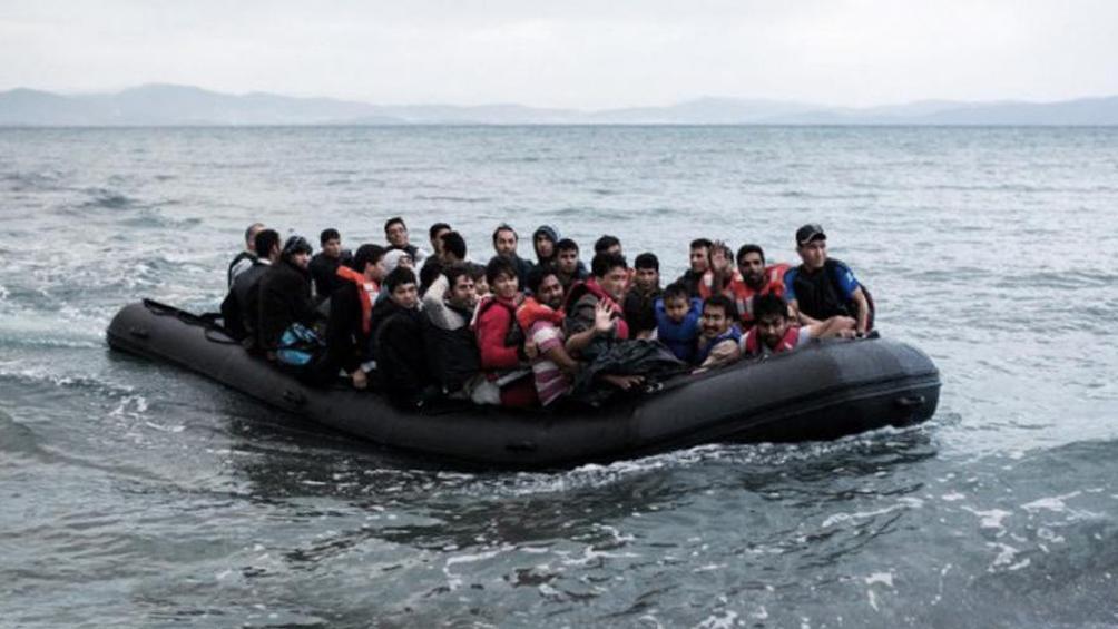 Once migrantes murieron en un naufragio en el mar Egeo