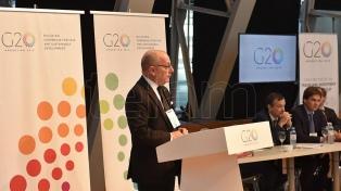 """Faurie reafirmó el papel clave del G20 en una """"coyuntura crítica"""" para la economía mundial"""