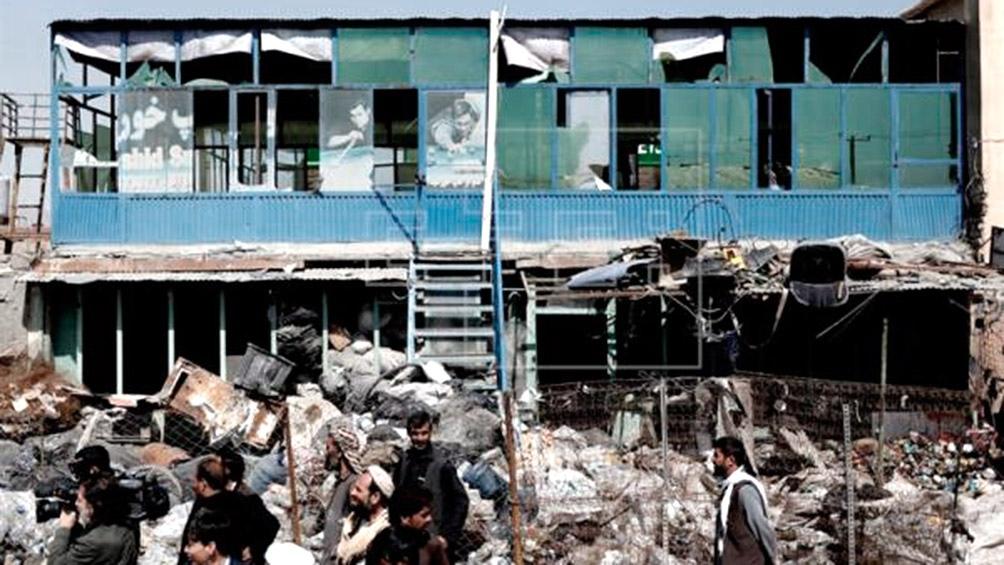 Fuertes explosiones sacuden Kabul — Afganistán