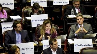 Siguen los cruces entre el oficialismo y la oposición por las tarifas
