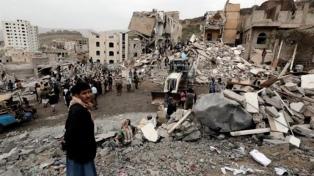 Bombardeos de la coalición árabe dejan 5 muertos