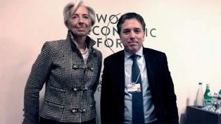 Dujovne y Lagarde coincidieron en el esfuerzo para alcanzar el equilibrio fiscal