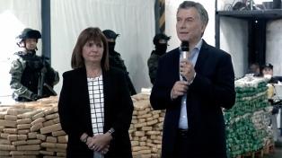 """Macri: """"Las mafias se fortalecieron con Gobiernos que miraban para otro lado"""""""