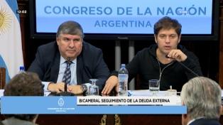 La oposición pide que el Gobierno explique el acuerdo que busca alcanzar con el FMI en la Bicameral de Seguimiento de la Deuda