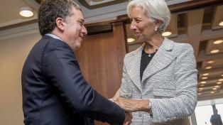 Dujovne y Lagarde acordaron iniciar negociaciones para acceder a un crédito Stand-By