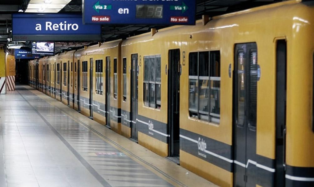 Cierran la Línea C por obras, desde hoy hasta el 2 de febrero