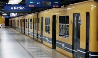 Metrodelegados anunciaron un paro en la línea C de subte para el próximo lunes