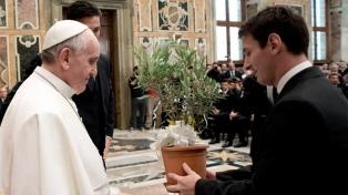 El Papa dijo que quiere recibir a la Selección antes del Mundial