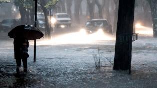 Unos 95 evacuados en Berisso tras caer 150 milímetros de agua en cuatro horas