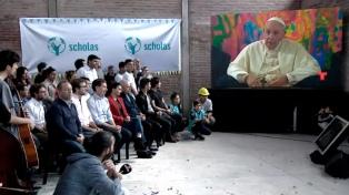 Francisco hablará por videoconferencia a la Villa 31