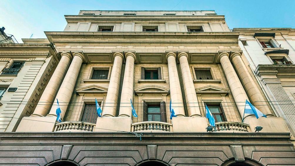 Fachada del Archivo General de la Nación sobre 25 de mayo