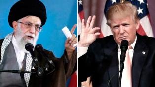 """Irán da por muerta la diplomacia con EE.UU. y Trump amenaza con """"abrumadora fuerza y destrucción"""""""