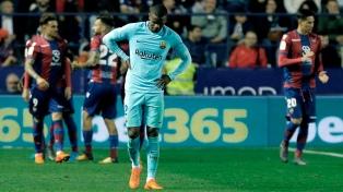 Barcelona, sin Messi, perdió el invicto con Levante en un partido plagado de goles